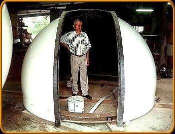 Fibreglass Astrodome