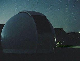 Fibreglass Astrodome on location