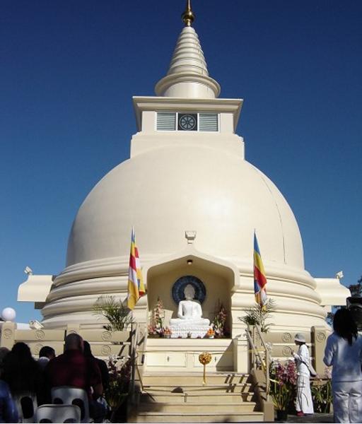 Buddhest Stupa finished