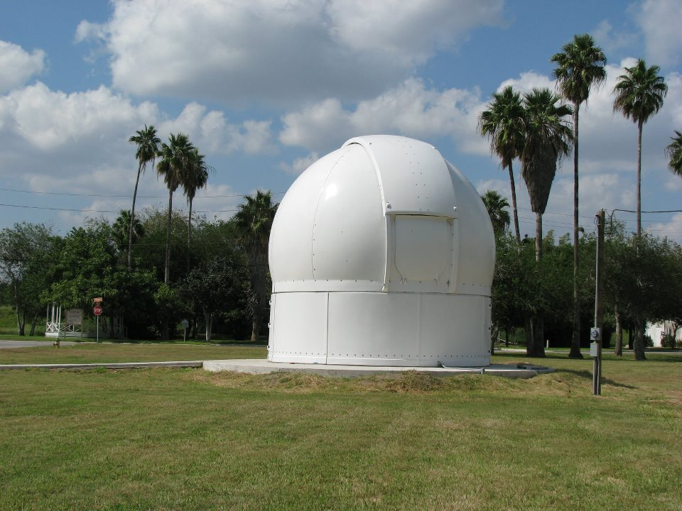 6.5m Astrodome on location