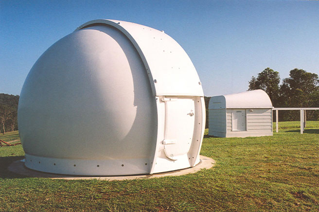 4.5m Astrodome on location