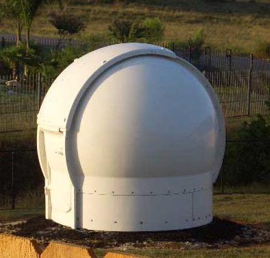 2.9m Astrodome on location